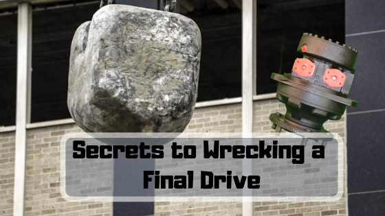 Secrets to Wrecking a Final Drive