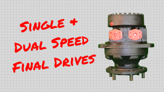 Single Speed and Dual Speed Final Drives: What You Need to Know