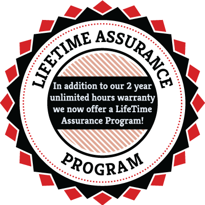New: Final Drive Motors LIFETIME ASSURANCE PROGRAM!