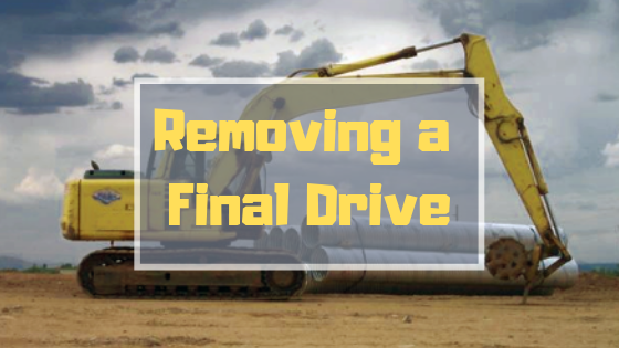 Removing a Final Drive - Final Drive Parts - Hydraulic Planetary