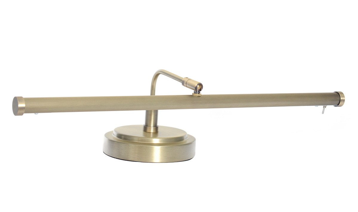 19 Quot 4 Quot Height Led Piano Lamp Antique Brass Cocoweb