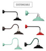 Customizable Peony Indoor/Outdoor Barn Light