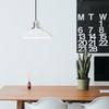 White Peony LED Barn Pendant Light Lifestyle 9