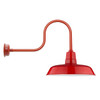 "Cherry Red 16"" Industrial Oldage Indoor/Outdoor LED Barn Light"