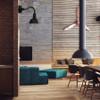 Customizable Blackspot Wall Sconce lifestyle
