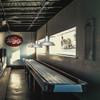 Galvanized Silver Oldage LED Barn Pendant Light Lifestyle