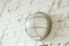 Winton Bulkhead Wall Sconce in Silver