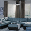 Albury Nautical Pendant Light in Black
