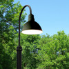 Customizable Blackspot LED Barn Lamp Post Life Style