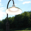 Customizable Peony LED Barn Lamp Post Life Style