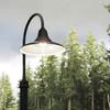 Customizable Calla LED Barn Lamp Post Life style