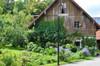 Black Iris Barn Lamp Post Lifestyle