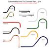 Customizable Iris Indoor/Outdoor Barn Light arms