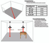 Recommended Measurements For Installing Cocoweb Barnlights