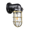 Kempsey Nautical Wall Sconce in Brass (AM-T102-BR)
