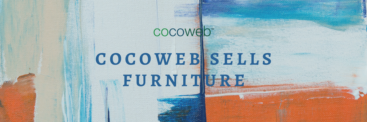 COCOWEB IS NOW SELLING FURNITURE AND HOME DECOR!