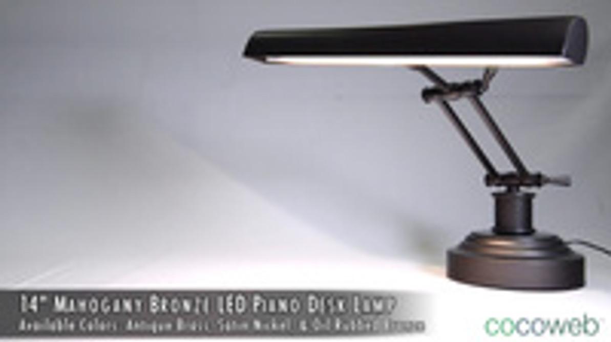 """Cocoweb™ 14"""" Piano Desk Lamps"""