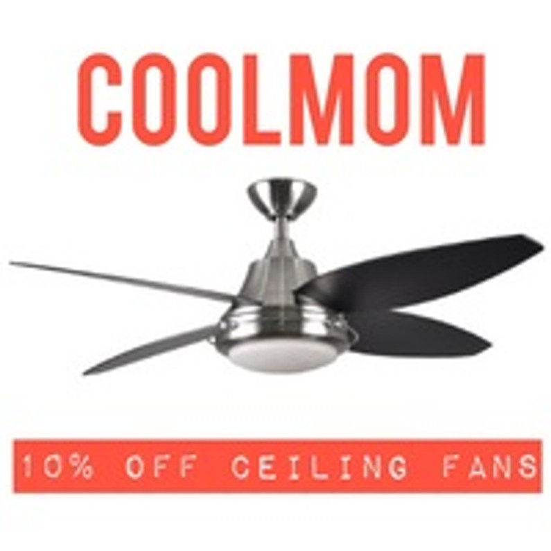 The Best Mother's Day Gift -- 10% OFF SELECT CEILING FANS