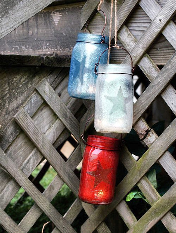 All About the Red, White, and Blue - 4th of July Decor Ideas