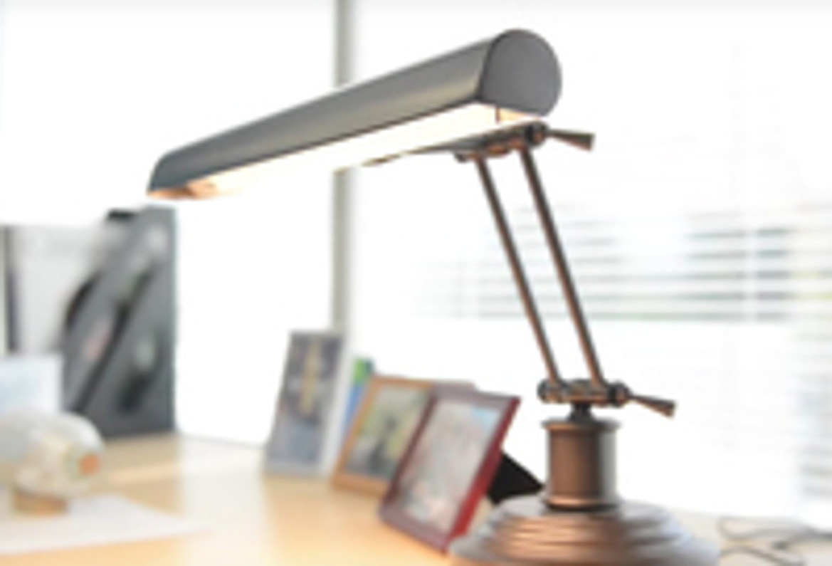 New Piano Desk Lamps Video