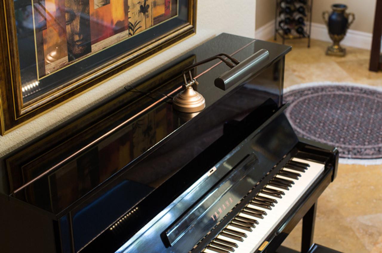 12 Led Piano Desk Lamp Oil Rubbed Bronze Cocoweb Quality