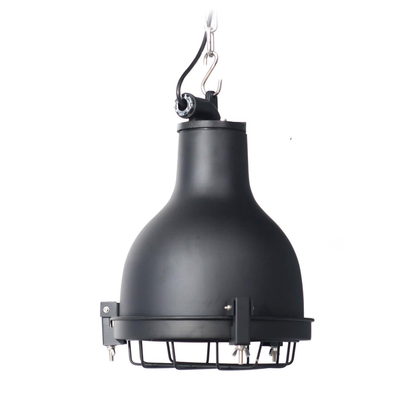 Castlemaine Nautical Pendant Light In Black
