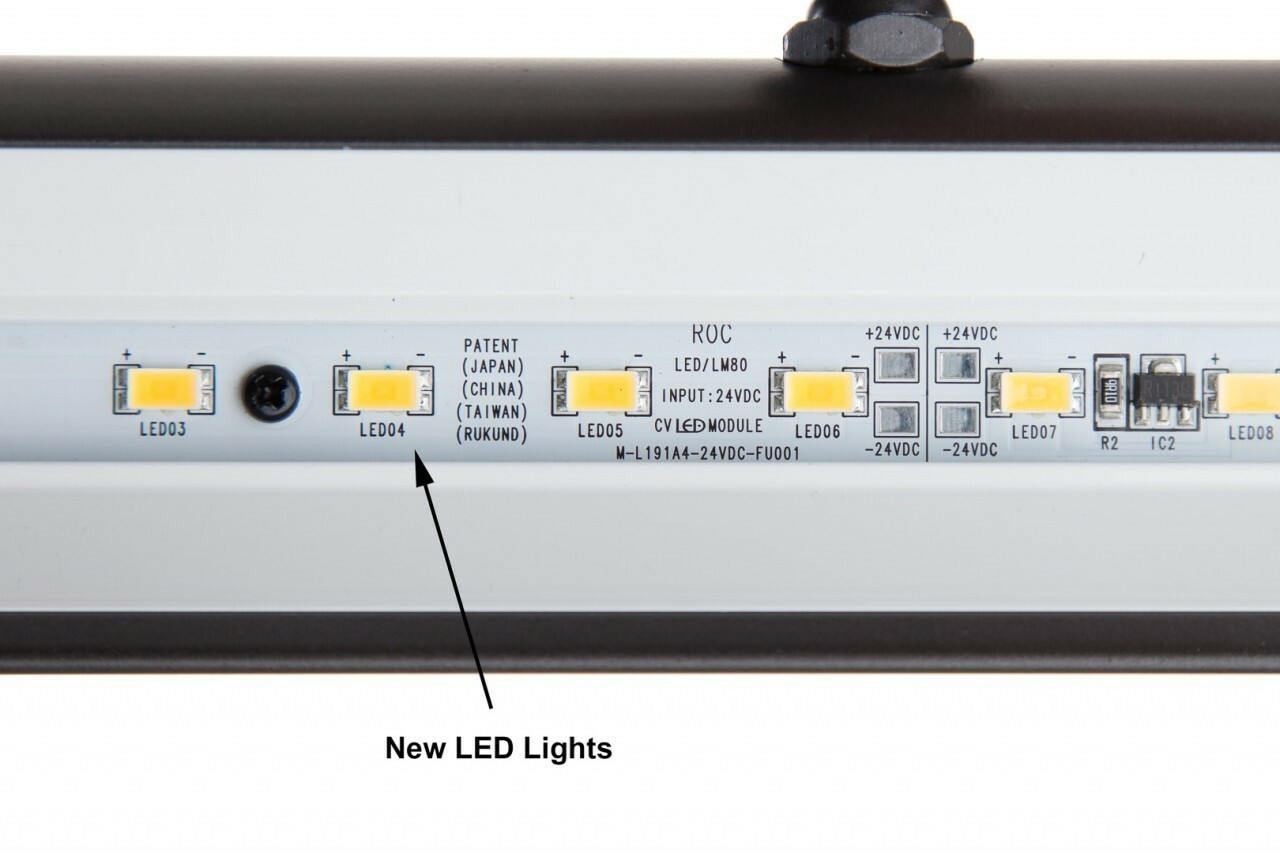 Black 41 Versatile Classic LED Picture Light