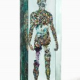 ART SHOW REVIEW DUSTIN YELLIN $50,000 TWO PARACHUTES AND A CRAB SUIT