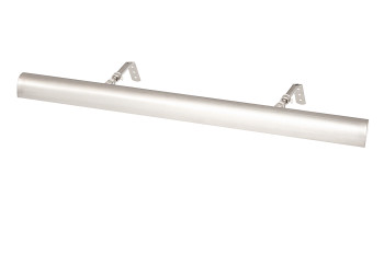 "Satin Nickel Classic 24"" Picture Light"