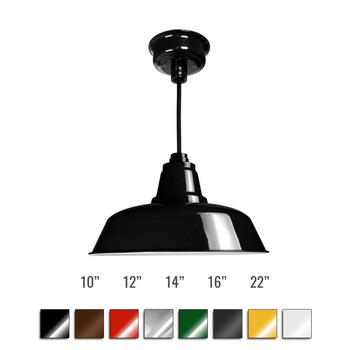 Customizable Goodyear Indoor LED Barn Pendant Light (BGY)