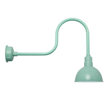 """10"""" Blackspot Industrial Jade Indoor/Outdoor LED Barn Lights"""