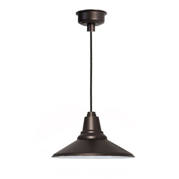 "12"" Calla LED Pendant Light in Mahogany Bronze"