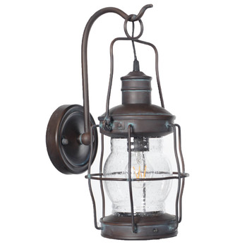 Carran Outdoor LED Wall Lantern - Large