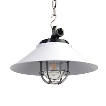Albury Nautical Pendant Light in White