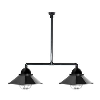 Geraldton Nautical Chandelier Light in Black