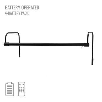 """Cocoweb 21"""" Tru-Slim Battery Picture Light in Black"""