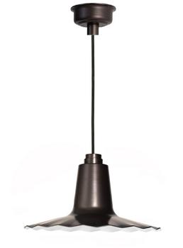 "16"" Iris LED Pendant Light - Mahogany Bronze"