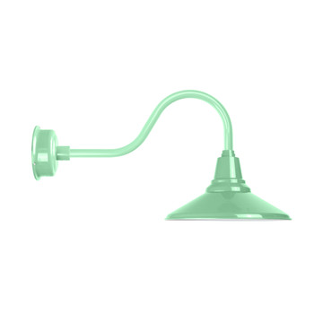 "Jade Contemporary 14"" Calla Indoor/Outdoor LED  Barn Light"