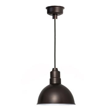 """12"""" Blackspot LED Pendant Light - Mahogany Bronze"""