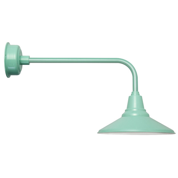 "Jade Traditional 16"" Calla Indoor/Outdoor LED Barn Light"
