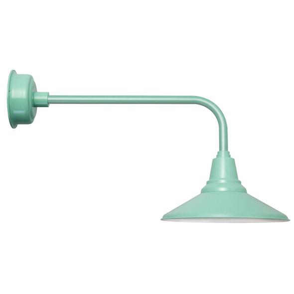 "Jade Traditional 16"" Calla Indoor/Outdoor LED Barn Light"