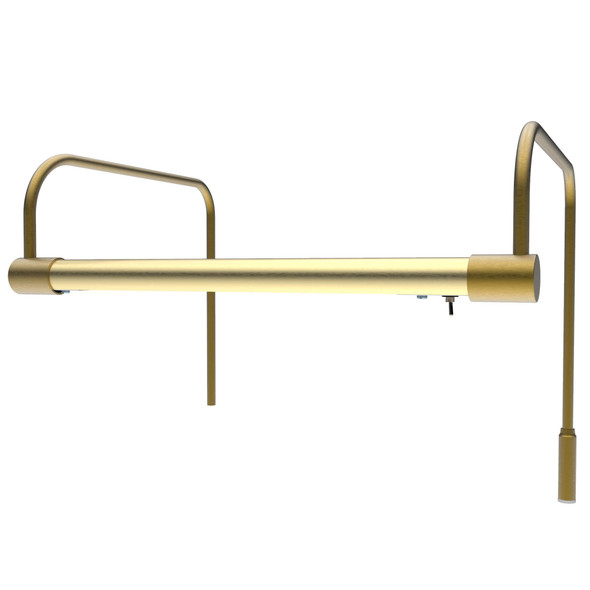 Battery-Operated 12'' Tru-Slim LED Picture Light - Antique Brass