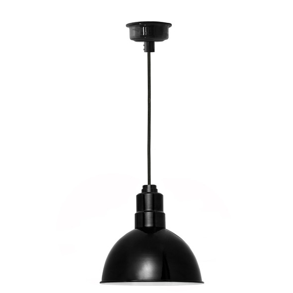 "14"" Blackspot LED Pendant Light in Black"