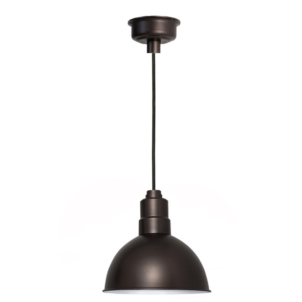 "12"" Blackspot LED Pendant Light in Mahogany Bronze"
