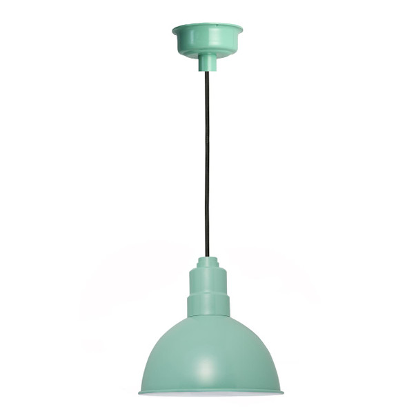 "10"" Blackspot LED Pendant Light in Jade"
