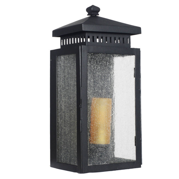 Navan Outdoor LED Wall Half Lantern - Small