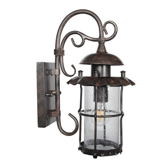 Finnea Outdoor LED Wall Lantern