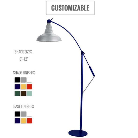 Dahlia Customizable Floor Lamp