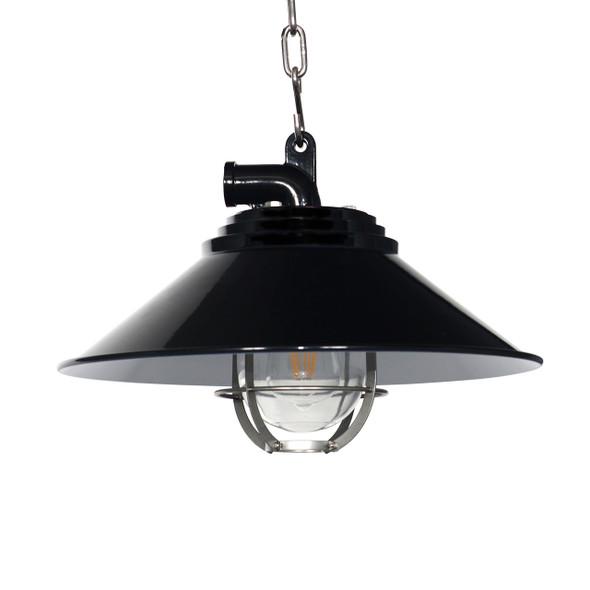 Albury Nautical Pendant Light in Black