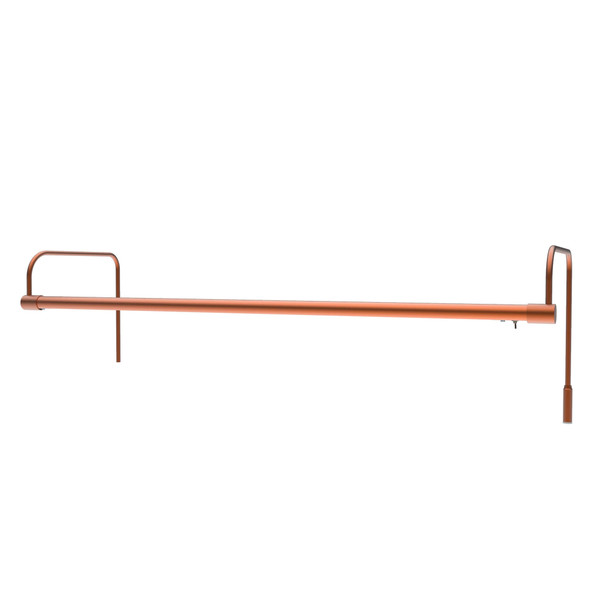 """30"""" Tru-Slim LED Picture Light with Battery Pack in Rose Gold"""